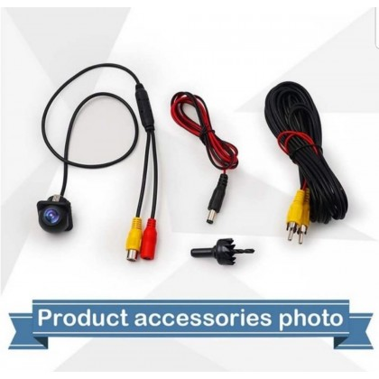 C-168 FULL HD 1080 CAR REAR VIEW REVERSE CAMERA 170 WIDE ANGEL BACKUP COLOUR PARKING