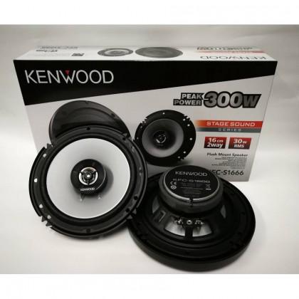 "KENWOOD KFC-S1666 6"" 2WAY SPEAKER"