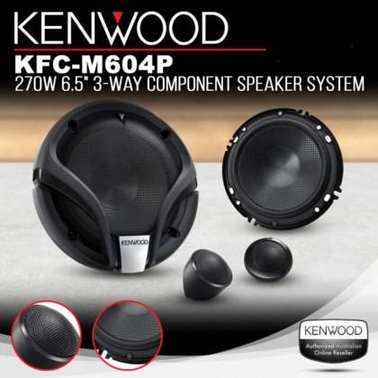 KENWOOD KFC-M604P 160mm 3-WAY COMPONENT SPEAKER