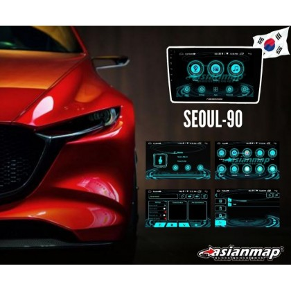 """9"""" & 10"""" SEOUL 1+16GB CAR ANDROID PLAYER"""